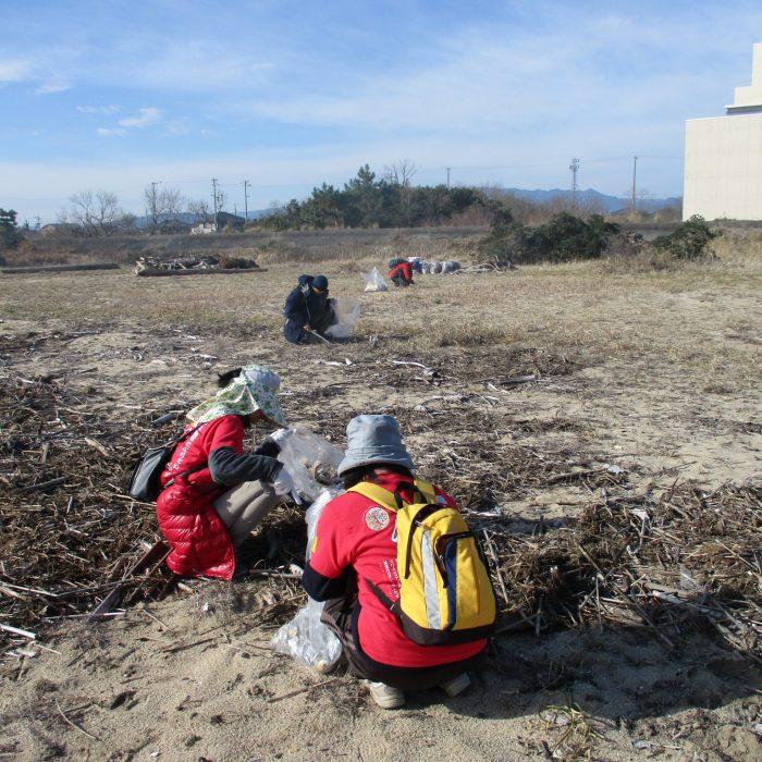 白塚の浜をキレイにしよう ごみ拾い大作戦!参加者募集中