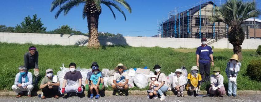 10月3日(土)朝8時、阿漕浦の清掃活動にご参加ください